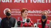 Meral Akşener: Orman yangınlarını çıkaranlar terör örgütü üyeliğiyle yargılanmalı