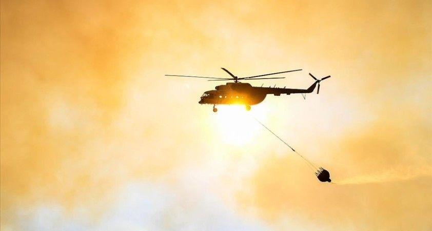 Adana'da tarlada başlayıp ormanlık alana sıçrayan yangına müdahale ediliyor