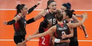 A Milli Kadın Voleybol Takımı Olimpiyat Oyunları'nda B Grubu'ndaki son maçında Rusya Olimpiyat Komitesi'ni yendi
