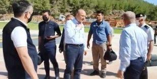 İçişleri Bakanı Soylu, Muğla'ya geldi