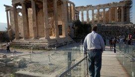 Yunanistan'da aşırı sıcaklar nedeni ile arkeolojik açık hava müzeleri ziyarete kapatılıyor
