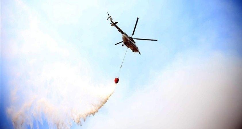Orman Genel Müdürlüğü: Yangın söndürme helikopterinin düştüğü haberleri asılsızdır
