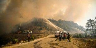 Türkiye'deki orman yangınları yedinci günde sürüyor