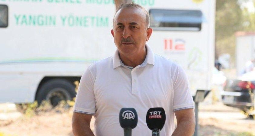 Dışişleri Bakanı Çavuşoğlu: Bugüne kadar görmediğimiz bir afetle karşı karşıyayız