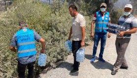 Diyanet İşleri Başkanı Erbaş, yangın bölgelerinde yaraları sarmaya çalıştıklarını bildirdi