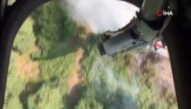 Azerbaycan'daki orman yangınına müdahale devam ediyor