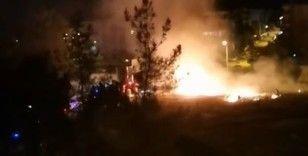 Kışlanın yanında ateş çıkaran şüpheli tutuklandı