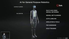 Tesla, 170 santimetre boyundaki insansı robotunu tanıttı