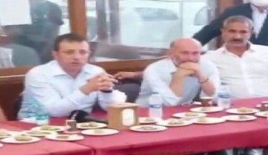 İBB Başkanı İmamoğlu Büyükada ziyaretinde vatandaşların tepkisiyle karşılaştı