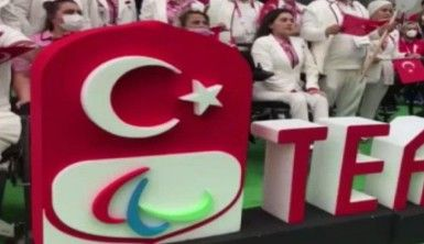 Milli sporcular açılış töreni için hazır