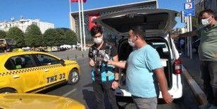 Kurallara uymayan ticari taksi sürücülerine ceza yağdı
