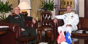 Genelkurmay Başkanı Güler, NATO Askeri Komite Başkanı Bauer'i ağırladı