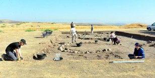 Kahramanmaraş'ta 7 bin 500 yıllık köy kalıntıları bulundu