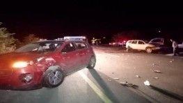 İki otomobil koyun sürüne çarptı, 40 koyun telef oldu