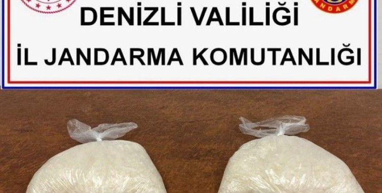 Bursa'dan aldığı uyuşturucu maddesini Denizli'de satan şüpheli tutuklandı