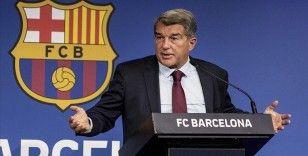 Barcelona Başkanı Laporta, Avrupa Süper Ligi'nin hayata geçirilmesinin engellenemeyeceğini savundu