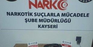 Kayseri'de iş yerine uyuşturucu operasyonu: 2 gözaltı