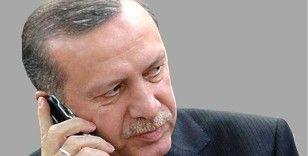 Cumhurbaşkanı Erdoğan, Tacikistan Cumhurbaşkanı Rahman ile görüştü