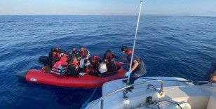 Bodrum'da 26 düzensiz göçmen kurtarıldı