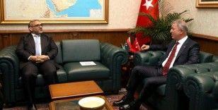 Milli Savunma Bakanı Akar, Libya Yüksek Devlet Konseyi Başkanı El-Meşri ile görüştü