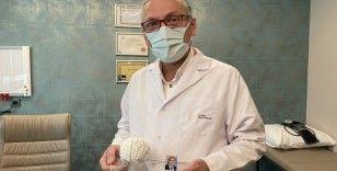 Türkiye'de bir ilk: 3D yazıcı ile insan beyninin birebir kopyası yapıldı
