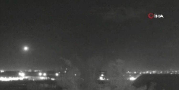 Gazze'den İsrail'e füze atıldı