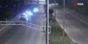 Başkent'te denetimden kaçarken 2 polise çarpan sürücü yakalandı
