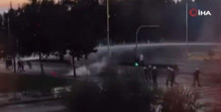Selanik'te hükümet karşıtı gösteriler: Polis ve protestocular çatıştı