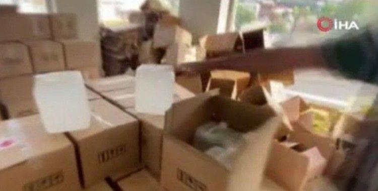 İstanbul'da kargoyla sahte alkol sevkiyatı polise takıldı: 6 gözaltı