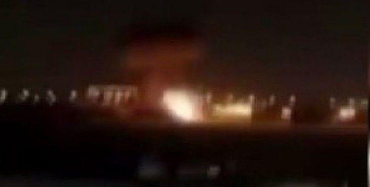 Erbil havalimanı'na SİHA saldırısı