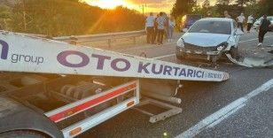Elazığ'da zincirleme trafik kazası: 2 yaralı