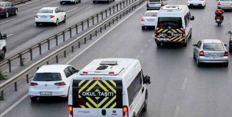İstanbul'da okul servis şoförlerinin yüzde 94,2'si aşı yaptırdı