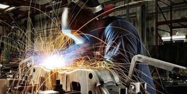 Sanayi üretimi yıllık yüzde 8,7 arttı