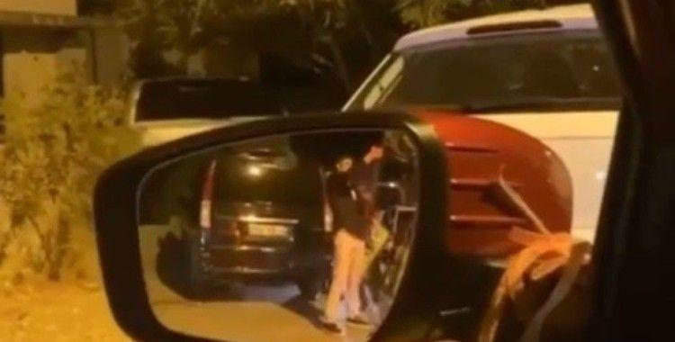 Antalya'da silahlı driftli maganda görüntüleri pes dedirtti