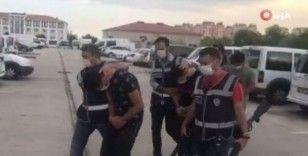 Antalya'daki silahlı driftli magandalar yakalandı