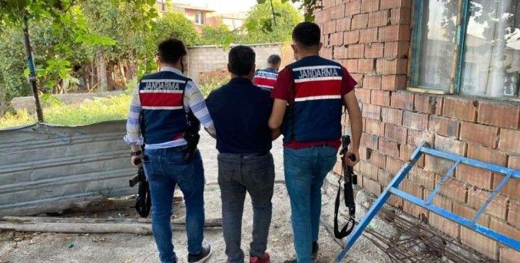 Aranan şahıs, Jandarma ve MİT operasyonuyla yakalandı