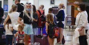 Antalya'ya hava yoluyla gelen turist sayısı 6 milyonu geçti