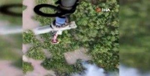 Tunceli'de orman yangınlarını söndürme çalışmaları devam ediyor