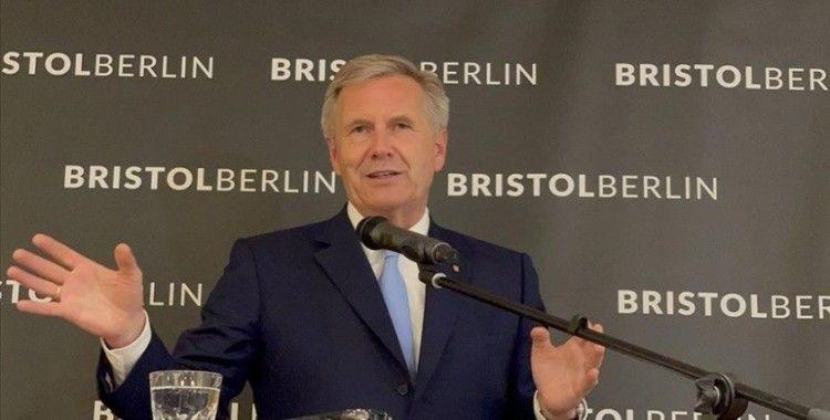 Eski Almanya Cumhurbaşkanı Wulff: Ülkeye çalışmaya gelen Türkler Alman tarihinin parçasıdır