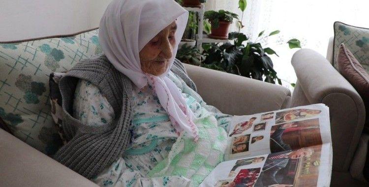 98 yaşındaki Sariye ninenin 'Cumhurbaşkanı albümü'
