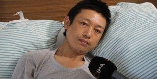 Bıçaklanan Japon turistin yeni görüntüleri ortaya çıktı: 'Elazığlılar bana çok yardım etti'