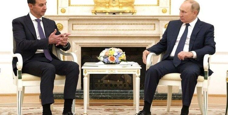 Esad'dan 6 yıl sonra Moskova'ya ilk ziyaret