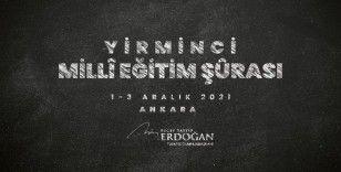"""Cumhurbaşkanı Erdoğan: """"Milli Eğitim Şurası'nı bu yıl 1-3 Aralık tarihleri arasında toplama kararı aldık"""""""