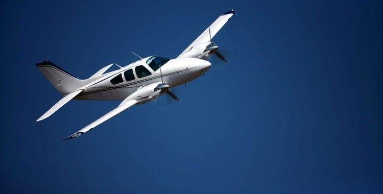 İsrail'den Yunanistan'a giden küçük uçak düştü