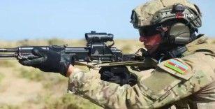 """Azerbaycan'da """"Üç Kardeş 2021"""" çıkarma operasyonlarıyla devam ediyor"""
