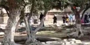 307 fanatik Yahudi Mescid-i Aksa'ya baskın düzenledi
