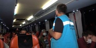 Başkasına ait HES kodu ile seyahat ederken otobüste yakalandı: 'Cenazeden dönüyordum'