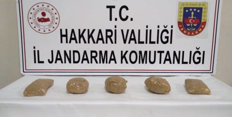 Yüksekova'da 3 kilo metamfetamin maddesi ele geçirildi