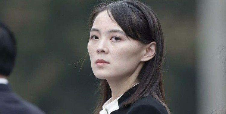 Kız kardeş Kim'den Güney Kore'ye füze denemesi tepkisi: 'İkili ilişkiler yok olur'