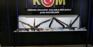 Ankara Emniyeti'nden iki suç çetesine operasyon: 29 gözaltı